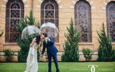 Christine & Mike's Central Christian Church + Brazos Hall Wedding