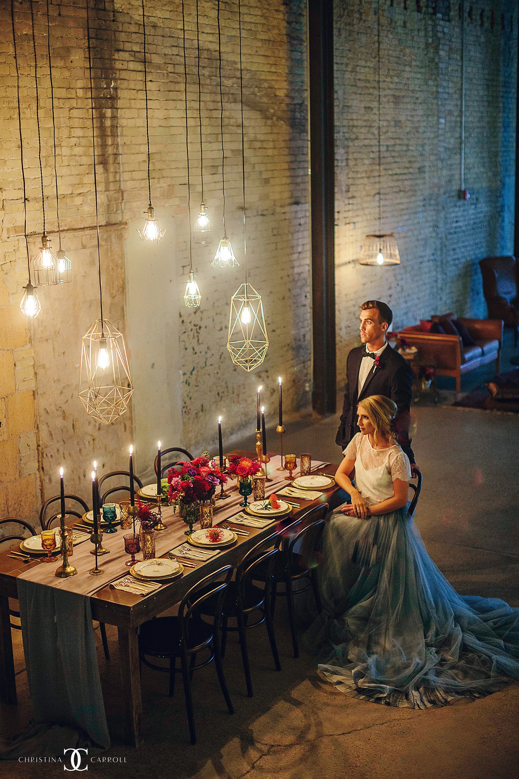 Nicole + Dustin- A Styled Shoot at 800 Congress