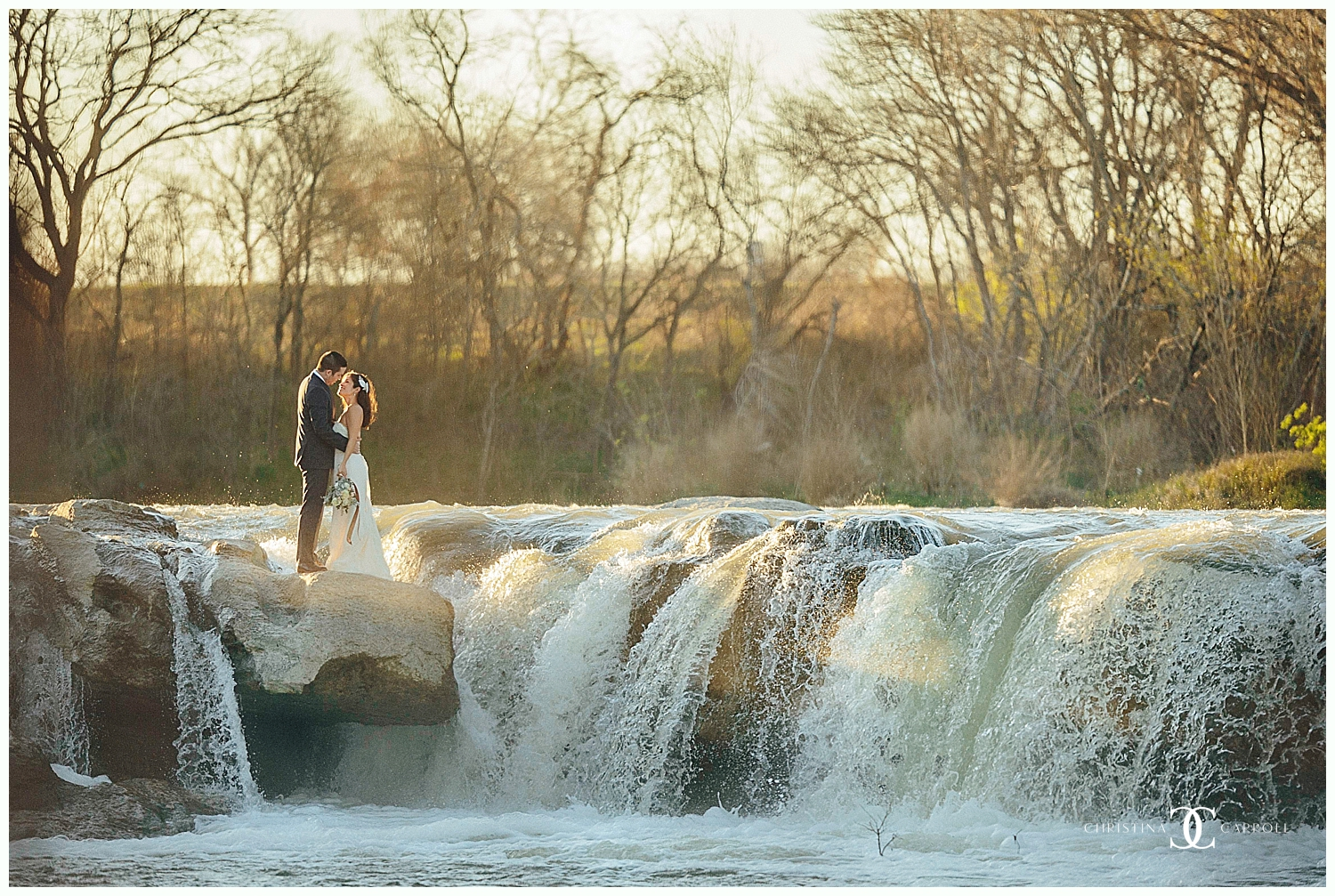 Adria & Adam's McKinney Falls After Session