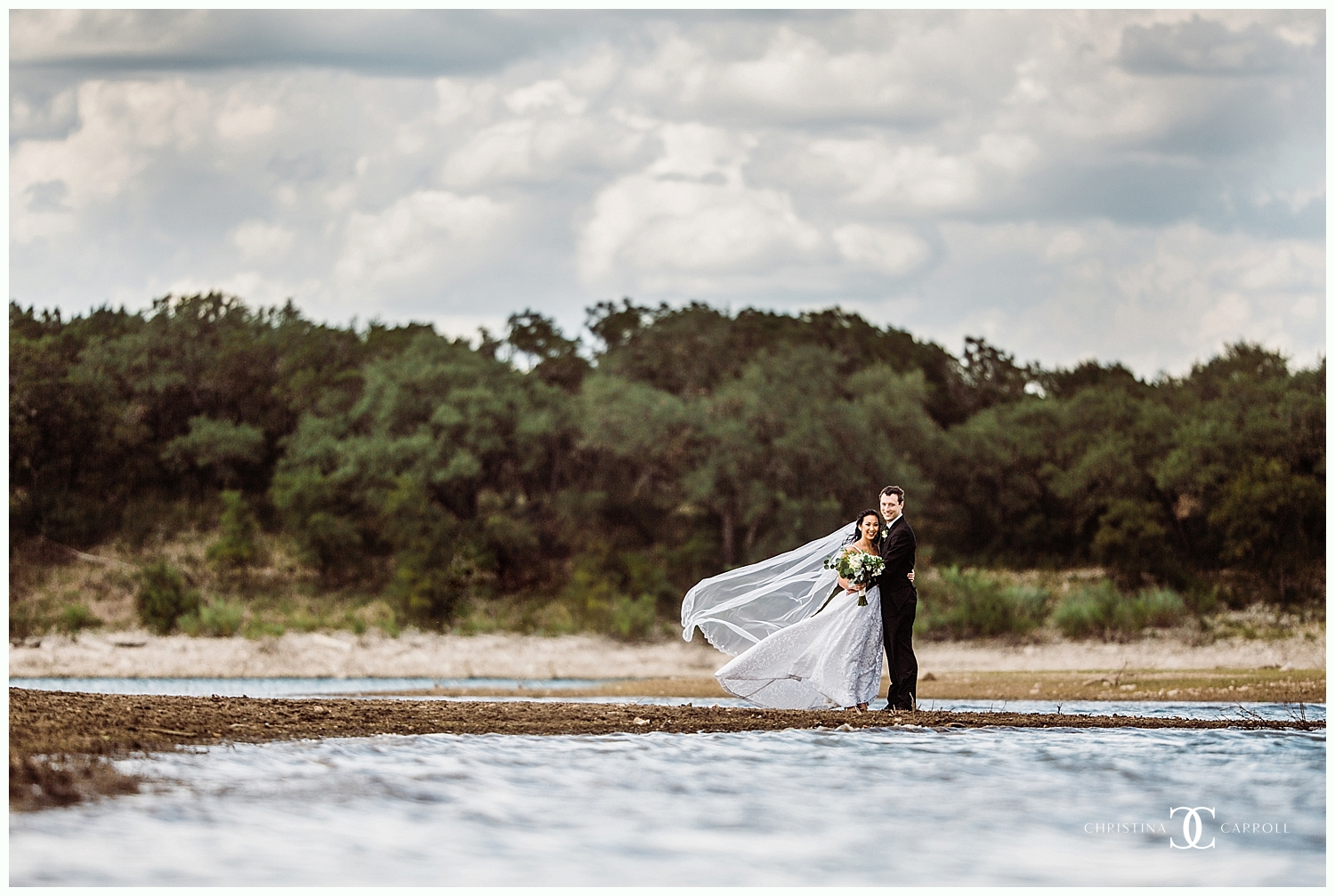 Amy & Rhett's Emmaus Church + Lakeway Resort Wedding
