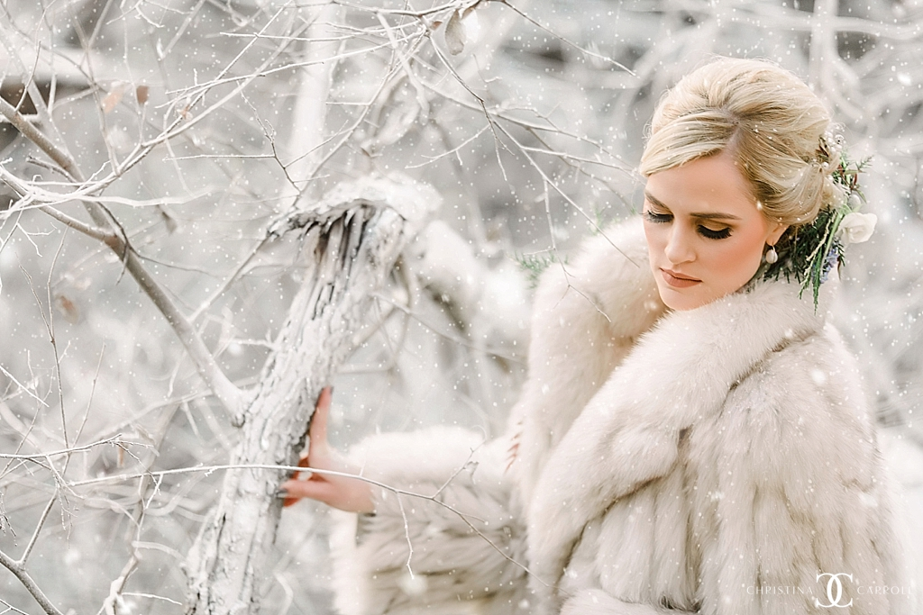 A Snowy Styled Session
