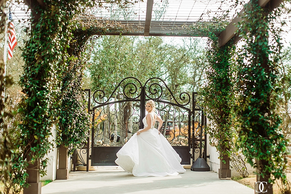 Jessica's Garden Grove Bridal Session