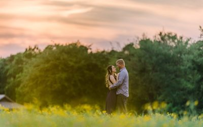 Jewel & James' Springtime Engagement Session