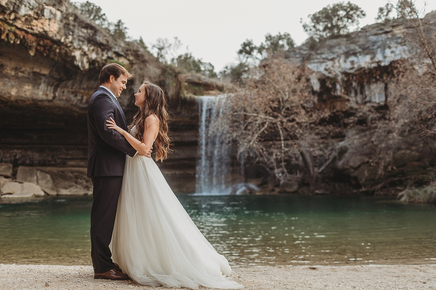Sydney & Cody's Hamilton Pool After Session