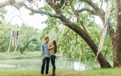 Kelsey & Wes' Cypress Falls Events Center Session