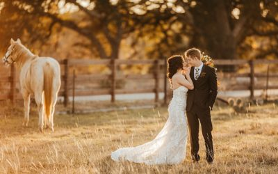 Angela & Joshua's King River Ranch Wedding